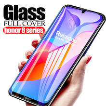 Protective Glass honor 8a pro screen protector safety Film For huawei honor 8x 8c 8s 8 lite honer 8 s c a x tempered glass cover(China)