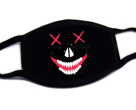 Fashion Cute Cartoon Face Mask Anti-proof Sun Protection Unisex Dust Mouth Mask Multi Style Anti-flu Cotton Facial Protective-H 4