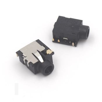 цена на 2pcs 5pcs 10pcs 20pcs New Audio Headphone Microphone Jack Socket for HP Pavilion G4 G6 G7 G4-2000 G6-2000 G7-2000 6Pin Connector