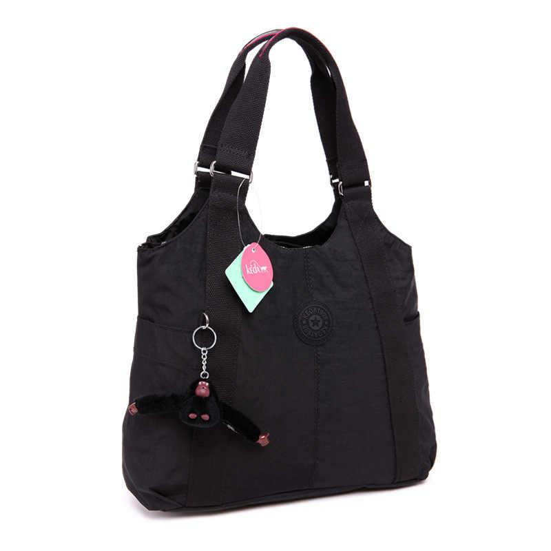 الأصلي مصمم قرد المفاتيح حقيبة يد من النايلون حقيبة نسائية صغيرة العلامة التجارية السيدات حقائب اليد الإناث حقيبة كتف امرأة محفظة بولسا الأنثوية