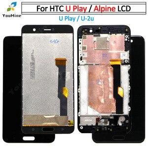 """Image 1 - 5.2 """"Với Khung Cho HTC U Chơi Màn Hình Hiển Thị LCD + Tặng Bộ Số Hóa Cảm Ứng Cho HTC U Play U 2u LCD Giá Rẻ vận Chuyển"""