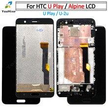 """5.2 """"สำหรับ htc u Play จอแสดงผล LCD + หน้าจอสัมผัส Digitizer Assembly สำหรับ htc u play U 2u LCD ฟรีการจัดส่ง"""