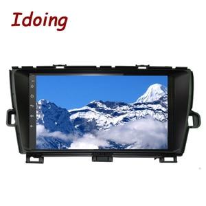 "Image 5 - Idoing 9 ""4G + 64G Octa çekirdek 1Din araba radyo Android multimedya oynatıcı Fit Toyota Prius GPS navigasyon Autoradio 2.5D IPS ekran"
