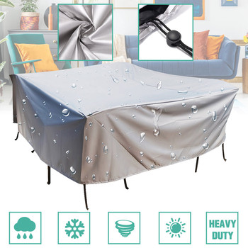 5Size Outdoor Cover Waterproof Furniture cover Sofa Chair Table Cover Garden Patio Beach Protector Rain Snow Dust Covers image