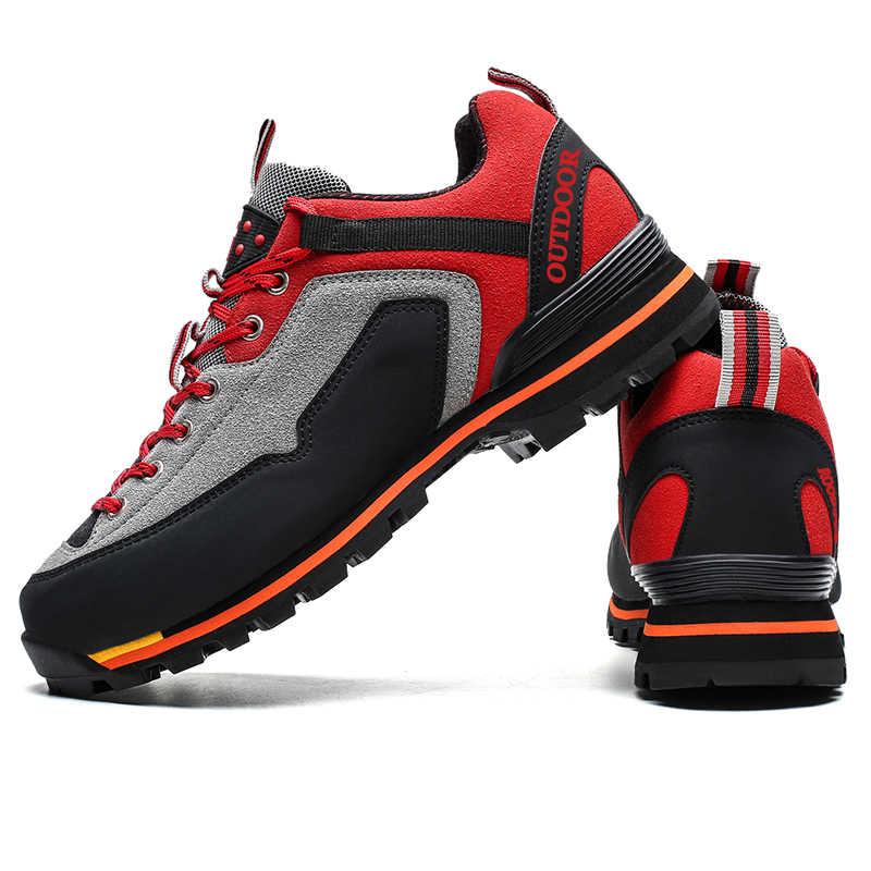 Hot koop Outdoor Schoenen Mannen Laarzen Waterdichte Casual Sneakers Big Size 47