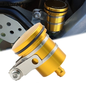 Motorcycle Rear Brake Fluid Reservoir Clutch Tank Oil Fluid Cup Cover For Honda Shadow 750 CB1000R Honda CB750 Xmax 300 R1 MT 09(China)