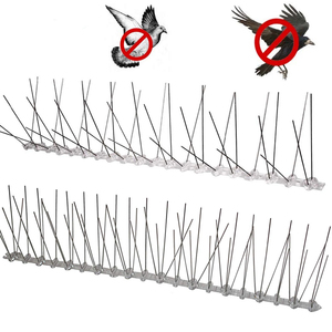 Image 5 - Boden boot 1 12M vogel repeller kunststoff edelstahl vogel spikes anti Vogel/Taube schädlingsbekämpfung vogel abweisend garten liefert