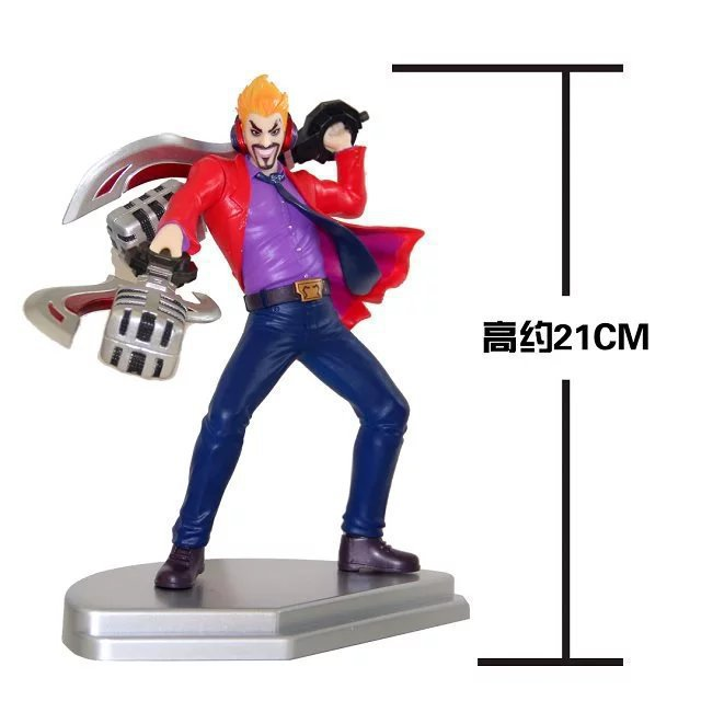 21cm Draven League Of Legends Figure Lol The Glorious Executioner Static Action Figures High Quality Pvc Figurine Colection Toys