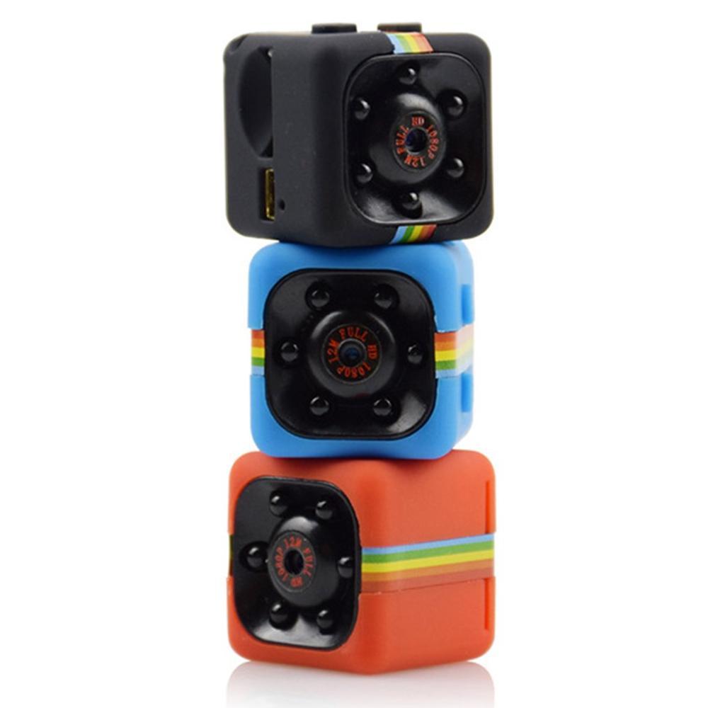 SQ11 Mini HD 960/1080P Mini Camera Camcorder Car DVR Infrared Video Recorder Sport Digital Camera Support TF Card DV Camera