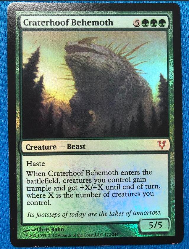 Craterhoof BehemothAvacyn Restored Foil Magician ProxyKing 8.0 VIP The Proxy Cards To Gathering Every Single Mg Card.