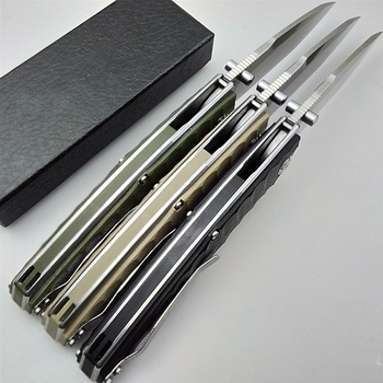 KESIWO folding blade knife D2 tactical camping survival pocket knives hunting flipper G10 handle hiking kitchen outdoor EDC tool 3