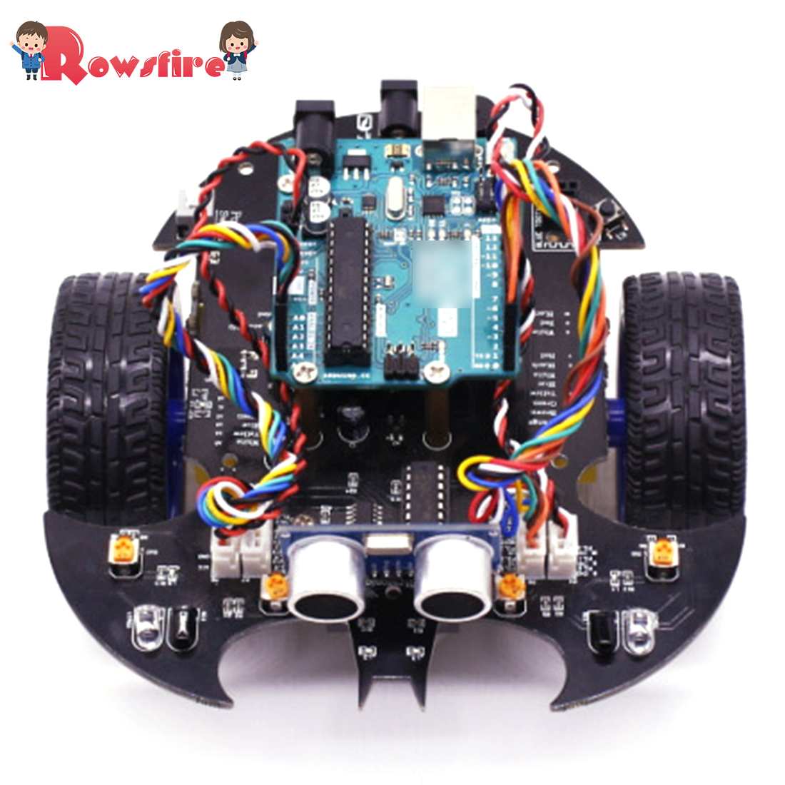 2019 Bat Smart Robot Car Project Complete Starter Kit With Tutorial Learning & Educational Electronic Toy For Arduino
