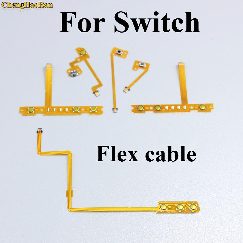 Repair SL SR ZL ZR L Button Ribbon Flex Cable for Nintendo NS Switch Joy-Con L R Button Key for JoyCon Controller parts 2