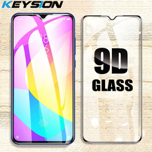 KEYSION Protective Glass For Xiaomi Redmi 9 Screen Protector Full Cover Tempered Film for Xiaomi Redmi Note 9 10X 4G 10 Pro 5G
