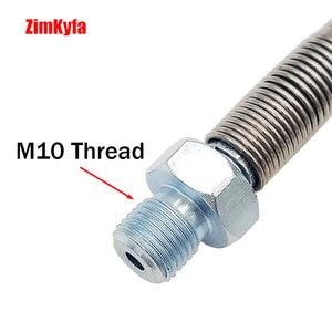 """Image 5 - Tubo flessibile per pompa manuale PCP/Auto per ricarica 64Mpa/9000PSI con connettore rapido 8mm lungo 20"""""""