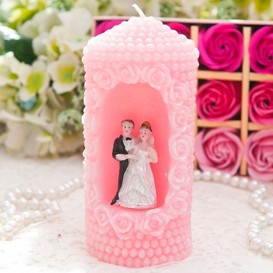 Anniversaire bougie fête cadeau bougies parfumées créatif Romance mariage décoration Velas De Cumpleanos bougie faisant des fournitures 50B27 - 3