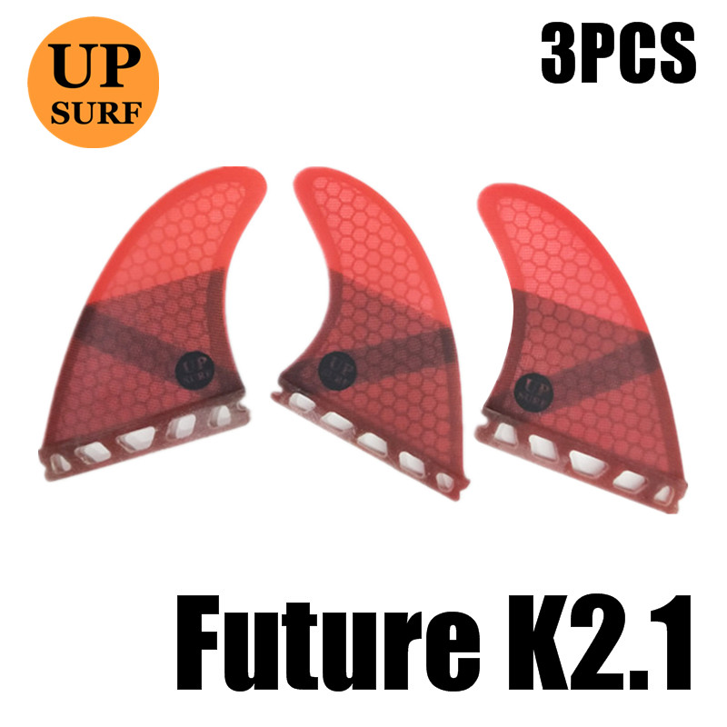 New Performance Surfboard Fins Perfect Flex with Honeycomb-Futures//Colorful Tri
