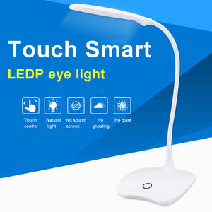 Table-Lamp Desk-Eye Office Led-Charging Reading Small Student for Dormitory And Protectionbedroom