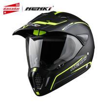Nenki オートバイヘルメットモトレーシングヘルメットクロスヘルメット capacetes フルフェイスオートバイアダルトモトクロスオフロードヘルメット 310