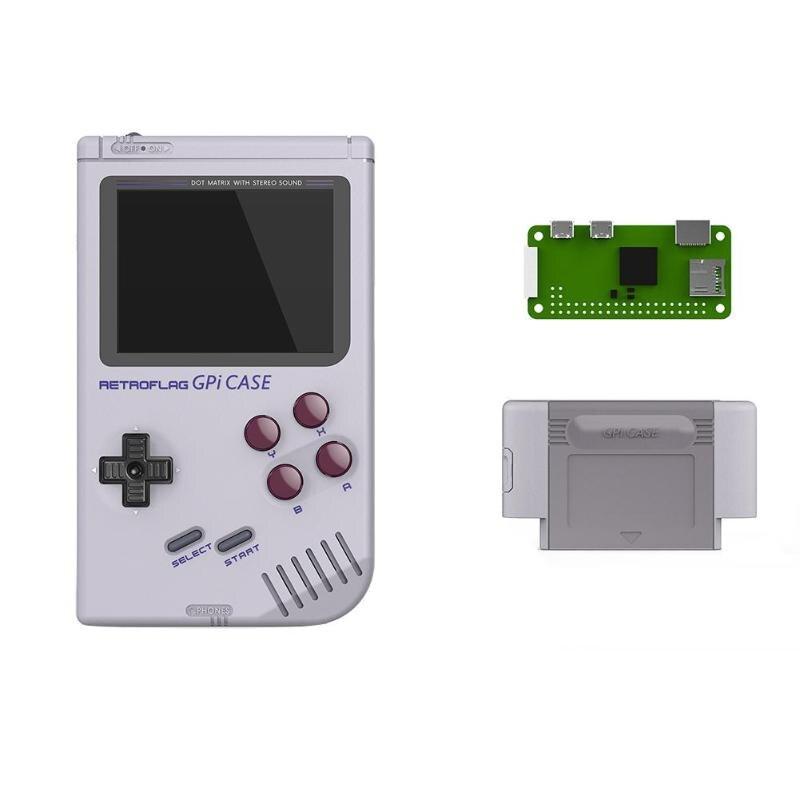 Retroflag GPi boitier Console de jeu pour Raspberry Pi zéro zéro W GameBoy Pi
