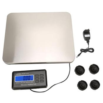 300kg Round Angle Electronic Postal Parcel Weighing Scale Food Kitchen Digital LCD Display Grams Weight Balance Platform Scale