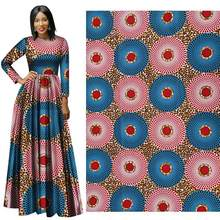 2019 All-terylene printed fabric African  wax yako 100% polyeste Batik for dress african print