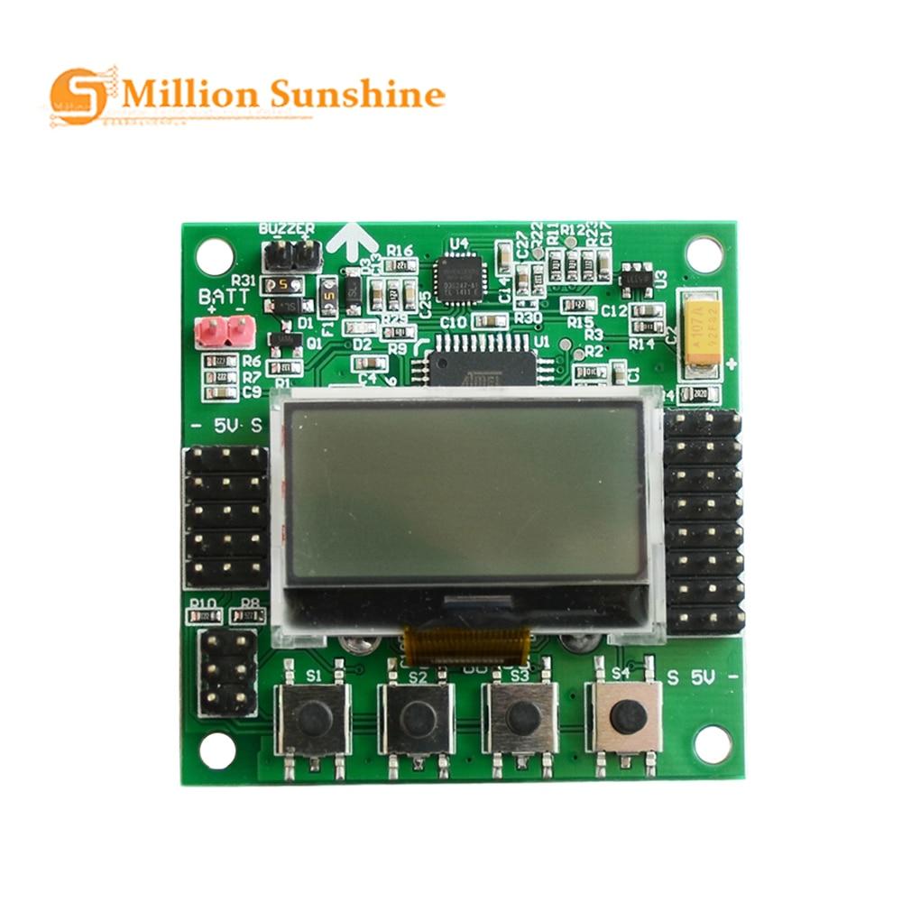 KK 2.1.5 LCD Multirotor Flight Control Board KK2.1.5 Newest V1.19Pro Quadcopter KK2 6050MPU 644PA Free Shipping EC37