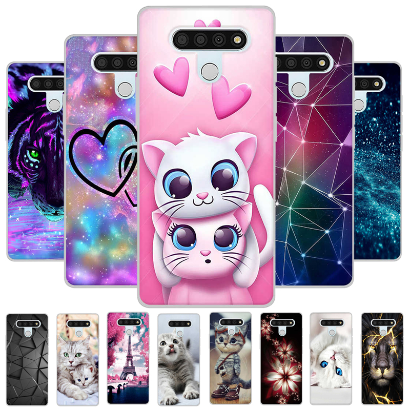 For LG Stylo 6 Case LMQ730TM Cartoon Patined For LG Stylo 6 6.8