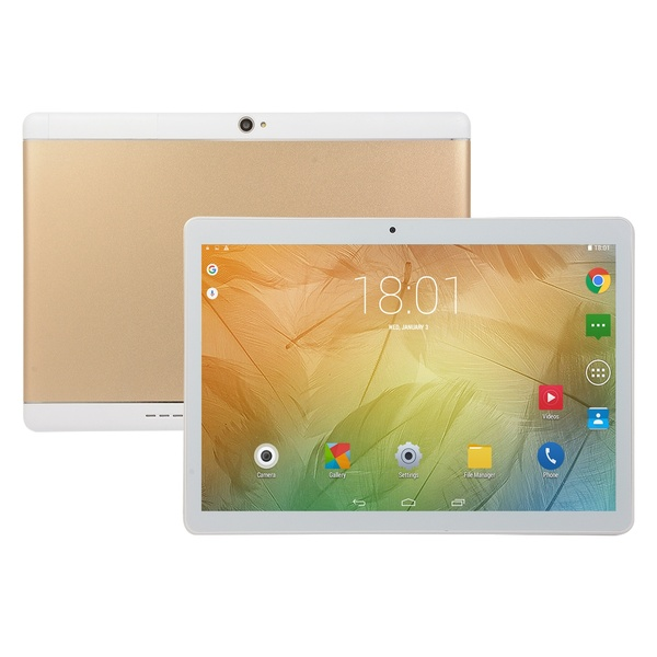 2020 Tablets With 6+128GB Large Memory 10.1 Inch Screen Tablets 10 Core Android 8.0 Tablets Dual SIM Tablet 4G Phone Call Tablet