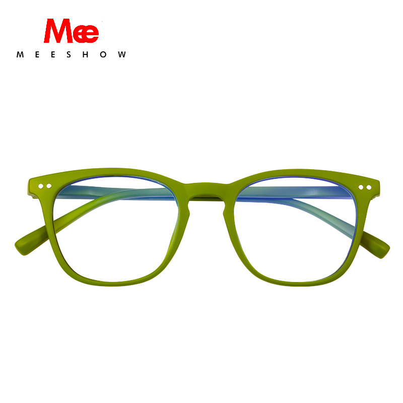 Meeshow Square Reading Glasses Anti-Blue Ray Men Women Eye Glasses With Diopter Retro Europe Style French Glasses +1.5 +2.0 1765