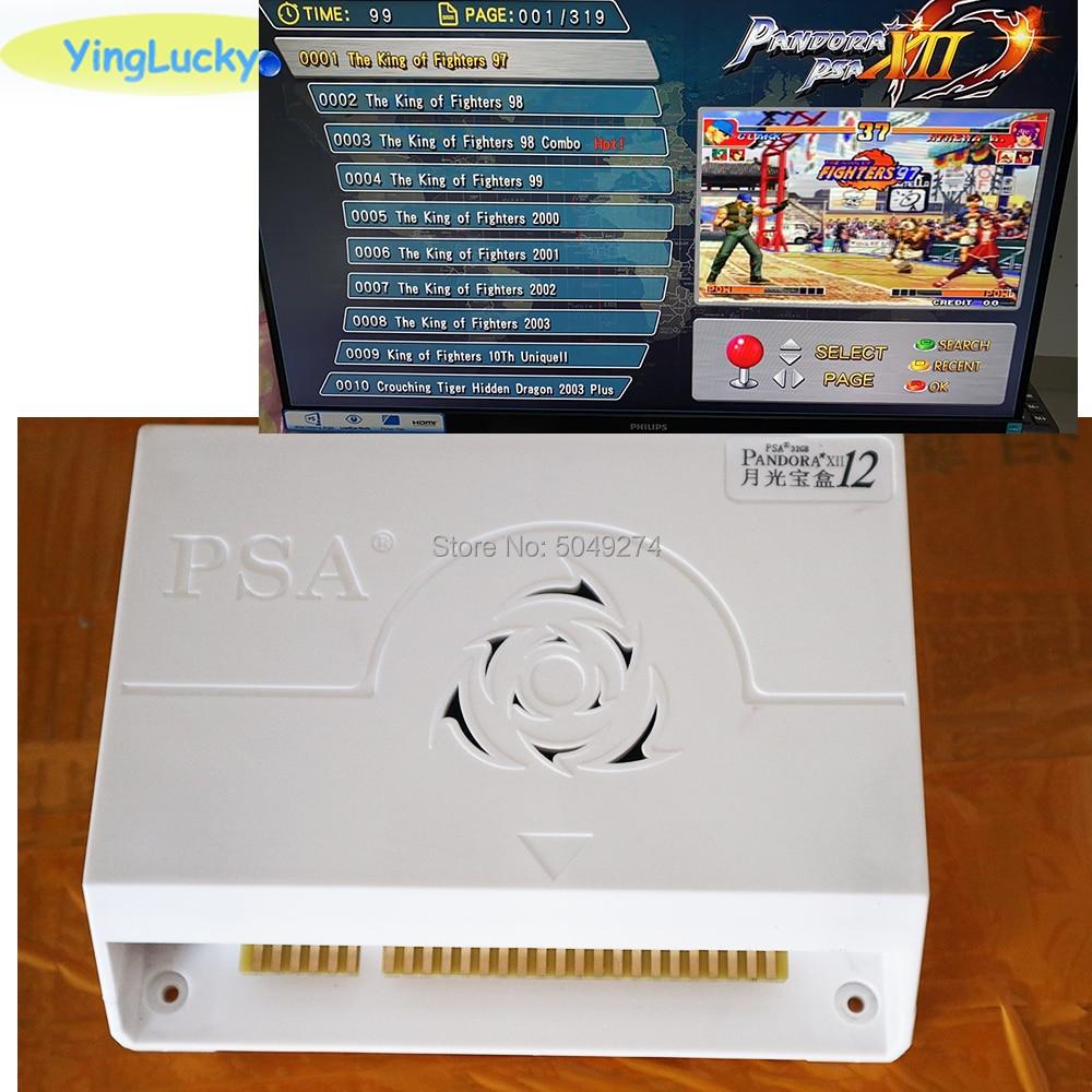 Pandora 3d Box 12 3188 In 1arcade version Jamma Board for Arcade Cabinet Machine Coin-operated video 3D games HDMI VGA(China)
