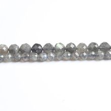 Linxiang Natural Diamond Flash Beads 6/8/10mm Suitable for DIY Bracelet Necklace Accessories Manufacturing Factory Direct Sale