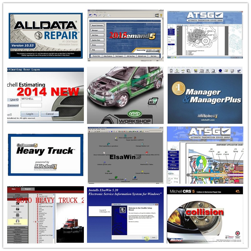 Buy alldata and mitchell software and get free shipping
