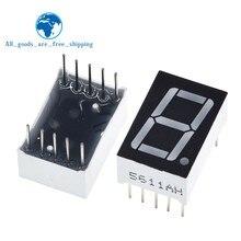 TZT 10pcs 0.56 pollici 1bit comune catodo digitale tubo rosso LED cifre Display 7 segmenti 0.5 pollici 0.5 0.56 pollici 0.56 ''pollici