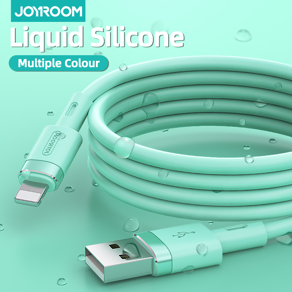 Charger For iPhone 11 Pro Max X XR XS 8 7 6 6s 5 5s iPad Cord for Charging Charger Cable Liquid Silicone Cable For iPhone Cable 6