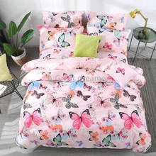 New 3d Butterfly Bedding Set Colorful Duvet Cover For Adults Bed Linen Accept Dropshipping (1pcs)