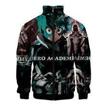 Cloudstyle New 2019 Hero College 3d Zipper Jackets Harajuku Cosplay Comic Character Men Jacket Long Sleeve Drop Ship