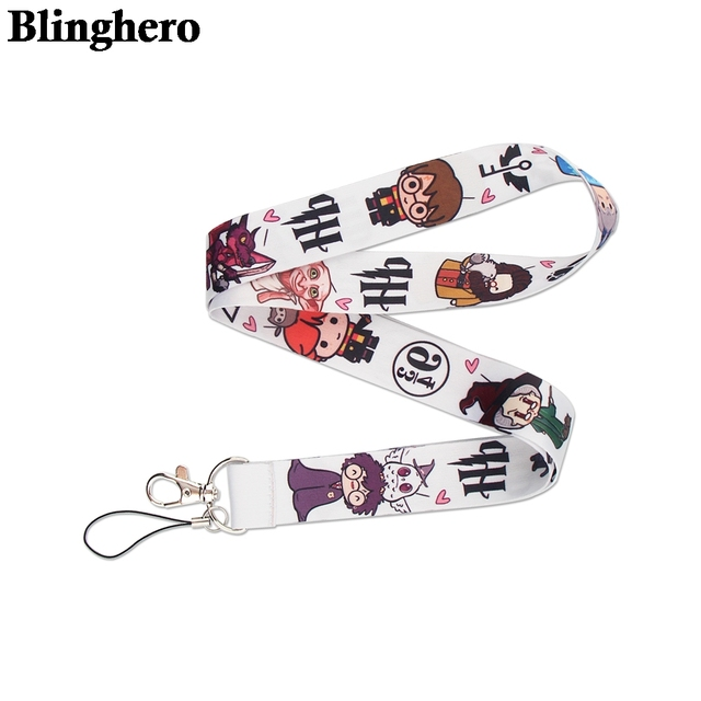 CA1508 Wholesale 20pcs/lot Magic School Hot Keychain Straps Rope Cell Phone Neck Strap Lanyard for ID Card Key Chain DIY Lanyard 1