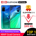ELEPHONE E10 Octa Core Smartphone 4 GB 64 GB 6,5