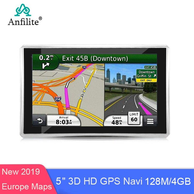 5-дюймовая HD Автомобильная ОС CE 6,0 GPS-навигация ЦП 800 МГц FM/4 ГБ/DDR3 128 М новейшие карты для Европы/США/России MTK MS2531 автомобильный навигатор
