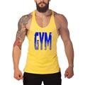 Брендовая одежда для бодибилдинга и фитнеса, хлопчатобумажные рубашки без рукавов, майка для мужчин, Стрингер, мужские майки, Y back workout gym vest
