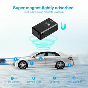 GF07 Mini Magnetic GPS Tracker Locator Elderly Children Anti-lost Device GPS Strong Magnetic Positioner(China)