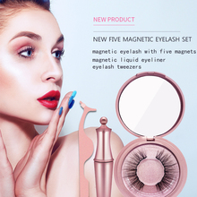 3D Magnetic False Eyelashes Suit Magnet Finger Pen Make Up Tool Extensions For Lady Beauty Supplies