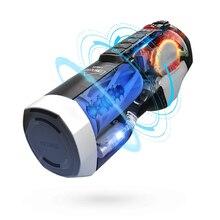 جهاز استمناء للرجال من Leten جهاز استمناء آلي من السيليكون جهاز استمناء تلسكوبي جهاز استمناء حقيقي للمهبل مص ألعاب جنسية للرجال