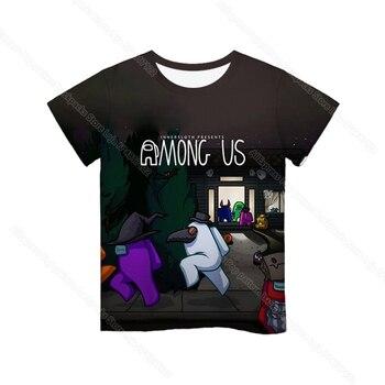 Cartoon Tee  Baby Kids Boys Girls Children Short Sleeves Summer Clothing Fashion 3d Print Toddler Camiseta 35