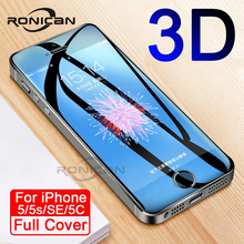 9H Anti-Burst Protective Glass On The For iPhone 5S SE 5C 5 Tempered Screen Protector Glass For iPhone 5S SE 4 4S Film Case electroplating tempered glass mirror screen guard film for iphone 5 5s 5c