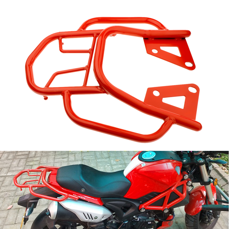 Image 3 - For Honda Grom MSX125 Motorcycle Rear Luggage Rack Holder Rear Seat Luggage Rack Support Shelf Motorcycle Accessory Dropshipping-in Covers & Ornamental Mouldings from Automobiles & Motorcycles