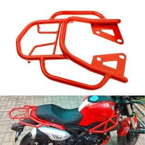 Image 3 - Soporte para equipaje trasero de motocicleta, soporte para asiento trasero para equipaje, estante de soporte para Honda Grom MSX125, accesorios para motocicleta 2019 nuevo