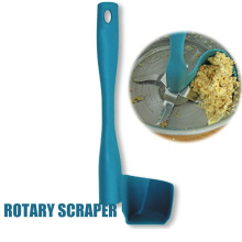 Hot Rotation Scraper Rotating Spatula Food Processing Tool for Processor Mixing Barrels XJS789