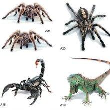 3D naklejki samochodowe pająk gecko scorpion dla Fiat Punto 500 Palio Argo grande panda Lifan X60 Cebrium Solano nowy Celliya ////